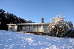 Cabana do inverno Fotos de Stock