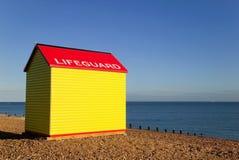 Cabana do Lifeguard foto de stock royalty free
