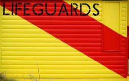 Cabana do Lifeguard da praia Fotografia de Stock