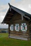 Cabana do registro Fotografia de Stock Royalty Free