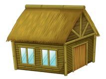 Cabana dos desenhos animados ilustração royalty free
