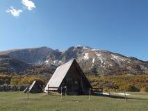 A cabana dos pastores Imagens de Stock Royalty Free