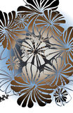 Cabana floral Royalty Free Stock Image