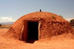 Cabana indiana no vale do monumento imagem de stock