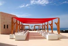 Cabana moderna no hotel de luxo Foto de Stock Royalty Free