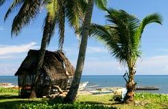 Cabana na costa Fotografia de Stock Royalty Free