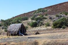Cabana na informações turísticas Imagem de Stock
