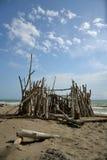 Cabana na praia Fotografia de Stock Royalty Free