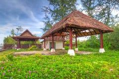 Cabana na praia em Tailândia Fotografia de Stock Royalty Free