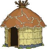 Cabana nativa ilustração stock
