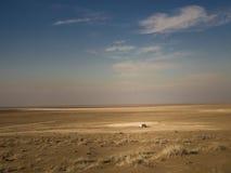 Cabana no deserto de Maranjab Fotografia de Stock