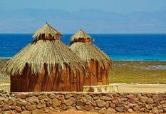 Cabana no litoral Foto de Stock Royalty Free