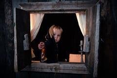 Cabana pequena da bruxa Imagem de Stock