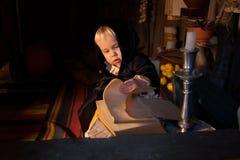 Cabana pequena da bruxa Foto de Stock