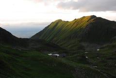 Cabana Podragu στα βουνά Fagaras Στοκ φωτογραφίες με δικαίωμα ελεύθερης χρήσης