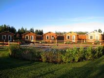 Cabana rústica de madeira Imagem de Stock