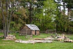 Cabana rústica de madeira Imagens de Stock Royalty Free