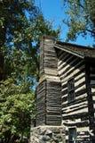 Cabana rústica de madeira Imagens de Stock