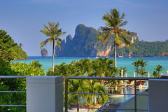 Cabana Resort, Loh-Dalum Bay, Phi Phi,  Thailand Stock Photography