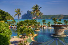 Cabana Resort, Loh-Dalum Bay, Phi Phi,  Thailand Stock Photos