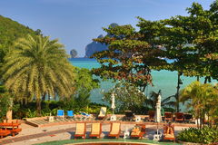Cabana Resort, Loh-Dalum Bay, Phi Phi,  Thailand Stock Photo