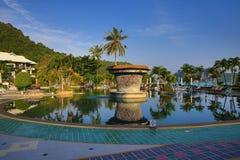 Cabana Resort, Loh-Dalum Bay, Phi Phi,  Thailand Stock Photo