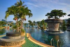 Cabana Resort, Loh-Dalum Bay, Phi Phi,  Thailand Stock Image