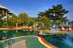 Cabana Resort, Loh-Dalum Bay, Phi Phi,  Thailand Stock Images