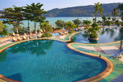 Cabana Resort, Loh-Dalum Bay, Phi Phi,  Thailand Royalty Free Stock Photography