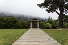 Cabana solitário na natureza Imagem de Stock