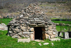 Cabana típica do ` s do pastor Foto de Stock