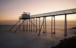 Cabana três do pescador Imagem de Stock Royalty Free
