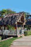 Cabana tropical da cabana Fotos de Stock