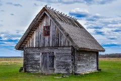 Cabana velha da pesca Foto de Stock Royalty Free