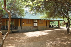 Cabana Yala Dorp, Sri Lanka Royalty-vrije Stock Foto