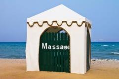 cabanamassage Fotografering för Bildbyråer