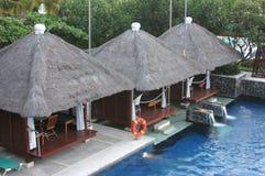Cabanas Stockfoto