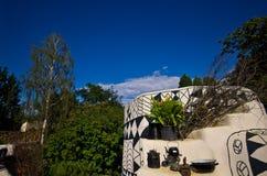 Cabanas africanas da argila no safari do jardim zoológico, Dvur Kralove Fotografia de Stock Royalty Free