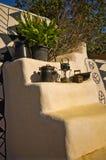 Cabanas africanas da argila no safari do jardim zoológico, Dvur Kralove Imagens de Stock