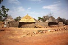 Cabanas africanas da vila foto de stock royalty free