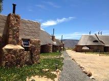 Cabanas africanas do feriado Foto de Stock