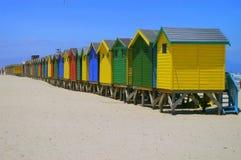 Cabanas beira-mar Foto de Stock