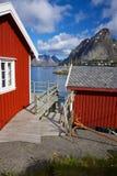 Cabanas da pesca fotografia de stock