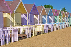 Cabanas da praia Imagens de Stock