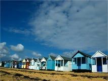 Cabanas da praia Fotos de Stock