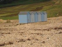 Cabanas da praia Imagem de Stock