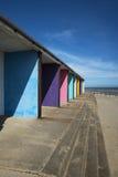 Cabanas da praia de Bexhill Fotografia de Stock