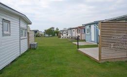 Cabanas da praia do beira-mar Foto de Stock Royalty Free