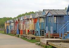 Cabanas da praia do degradado Fotografia de Stock