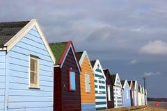 Cabanas da praia no southwold Imagens de Stock Royalty Free